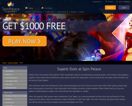 Arctic Fortune Spin Palace Online Casino